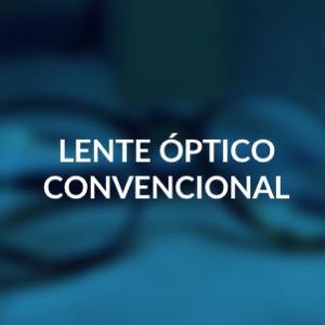 Lente optico convencional